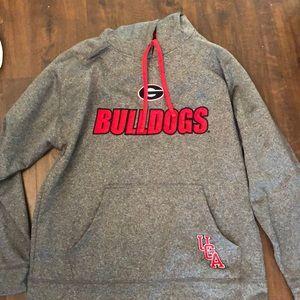 Grey Men's Large UGA Sweatshirt